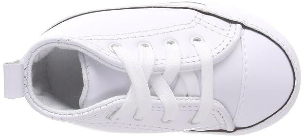 Eu Converse Baskets Cuir Mixte Bébé Star 18 Mode First Blanc qwHwCz4