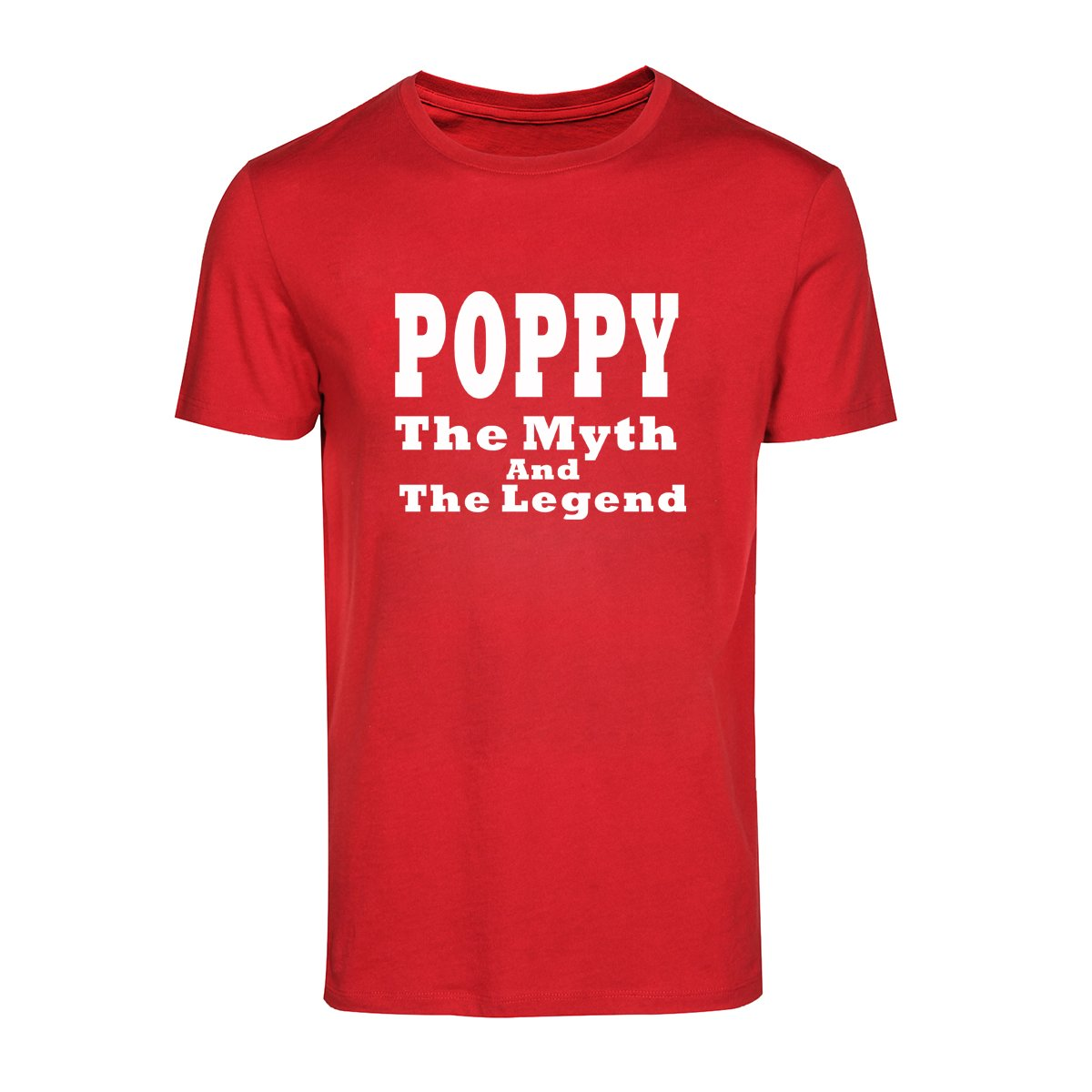 Loo Show Father S Day Grandpa Gift Poppy Myth Legend T Shirt Tee