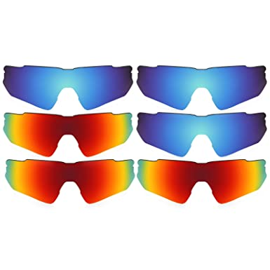 3ca1da10c8e Image Unavailable. Image not available for. Color  Revant Replacement Lenses  for Oakley Radar EV Path ...