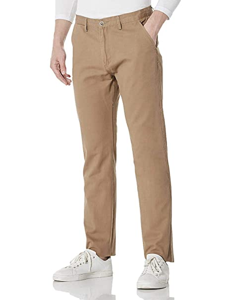 Amazon Marke: MERAKI Herren Baumwoll Regular Fit Chino Hose