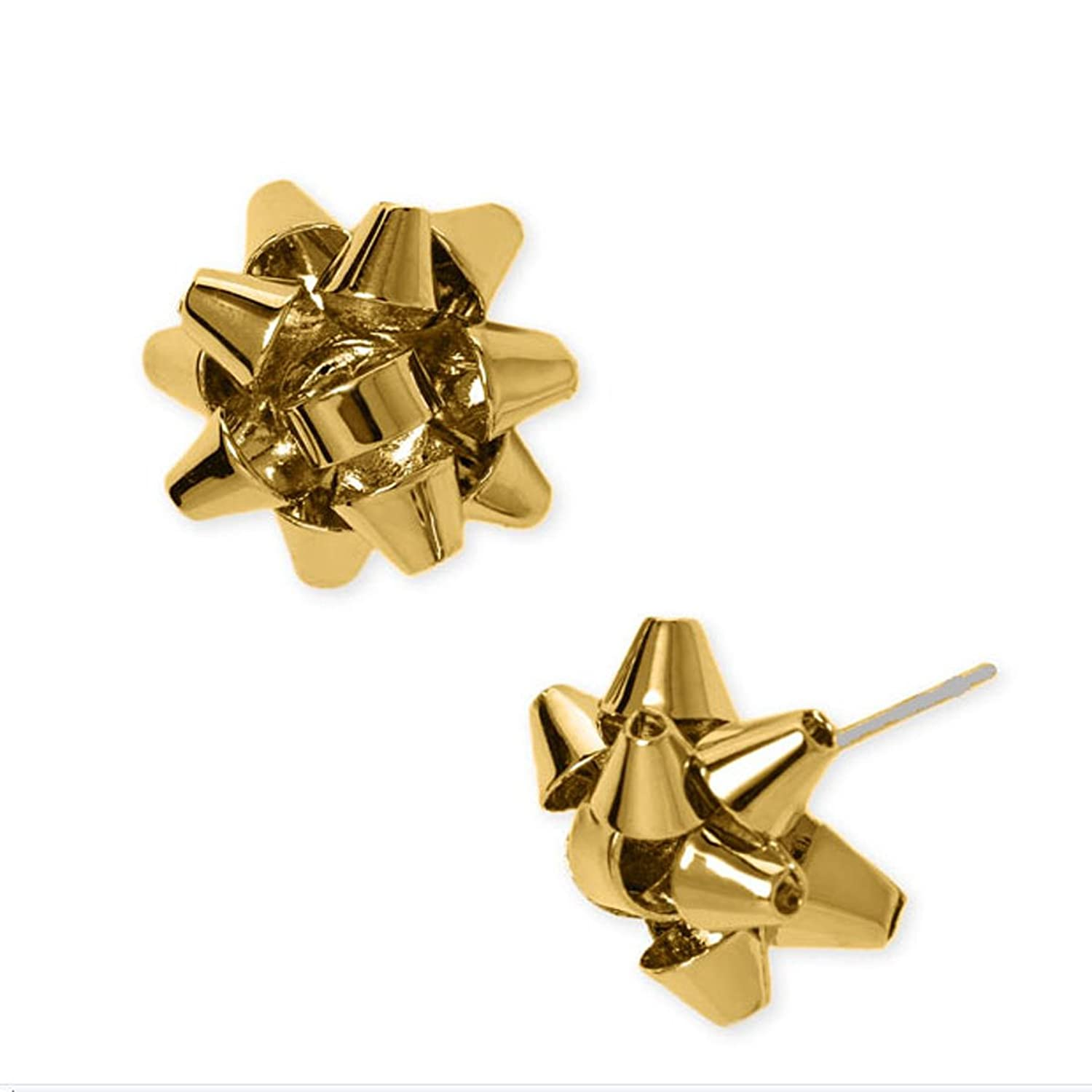 Amazon.com: Kate Spade Bourgeois Bow Earring Studs Gold: Jewelry