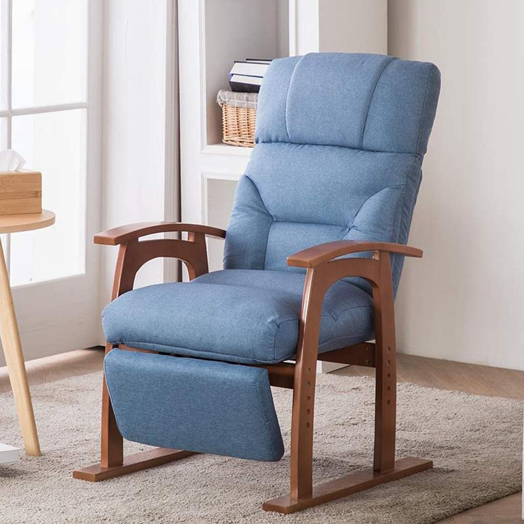 Deck Chair Dining Chair Dressing Table Locker Room Computer Chair Bedroom  Living Room Balcony Leisure Sofa Chair Pregnant Woman Recliner Chairs  (Color