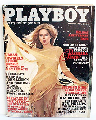 Playboy Magazine, January 1981