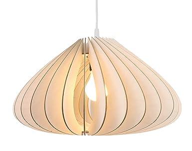 Wodewa lampadario legno sospensione luna i naturali lampadari a
