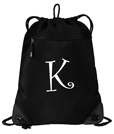 e285010214e8 Image Unavailable. Image not available for. Color  Broad Bay Personalized  Drawstring Bag Personalized Cinch Pack Backpack ...