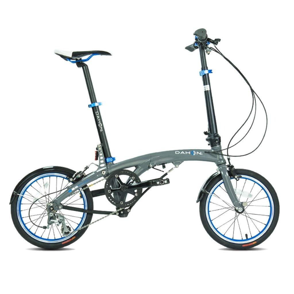 折りたたみ自転車 折りたたみ自転車ユニバーサル折りたたみ自転車女性の自転車6速16インチホイールセットシフトコンパクト (Color : 緑, Size : 150*30*108cm) 緑 150*30*108cm