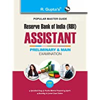 Reserve Bank of India: RBI Assistants (Preliminary & Main) Recruitment Exam Guide