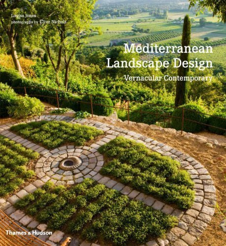 Mediterranean Landscape Design Vernacular Contemporary 1st First