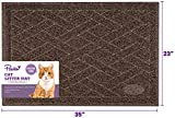Pawkin Cat Litter Mat, Patented Design with