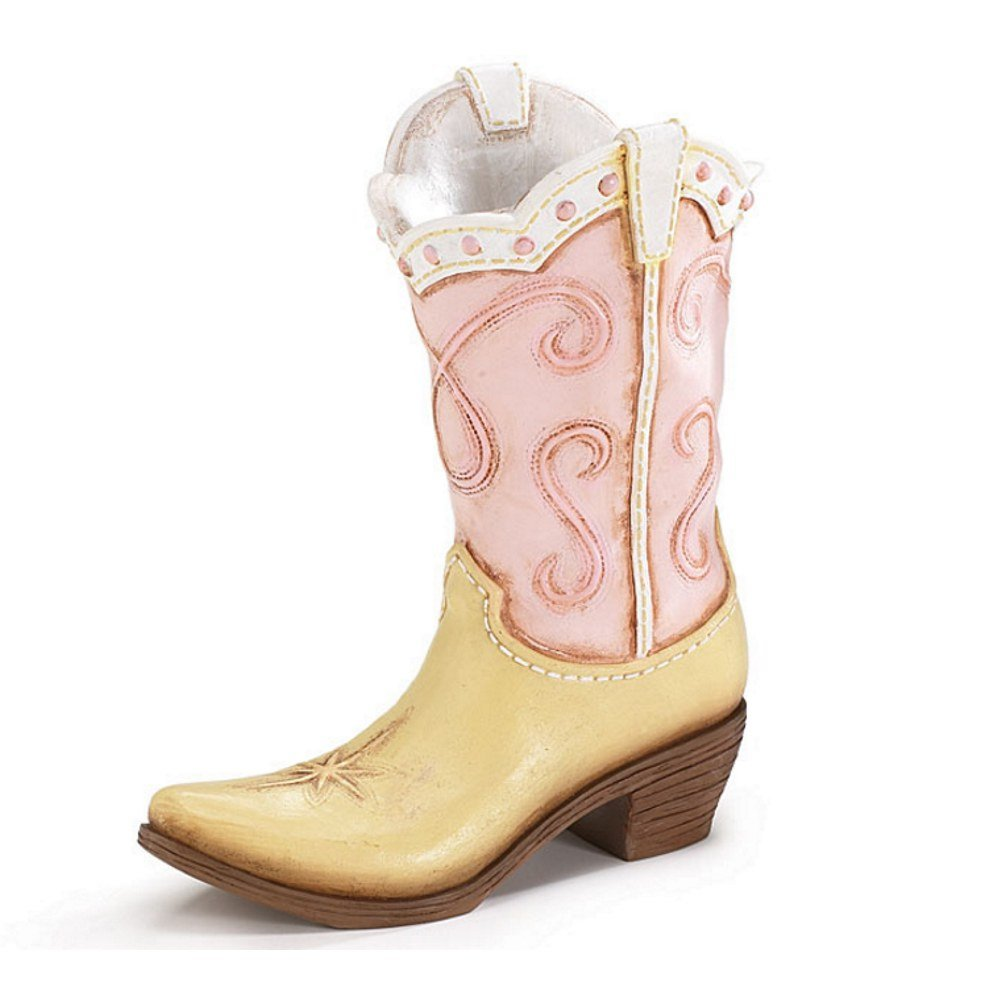 Amazon pink ladies cowboy cowgirl boot vase great western amazon pink ladies cowboy cowgirl boot vase great western country home accent home kitchen reviewsmspy