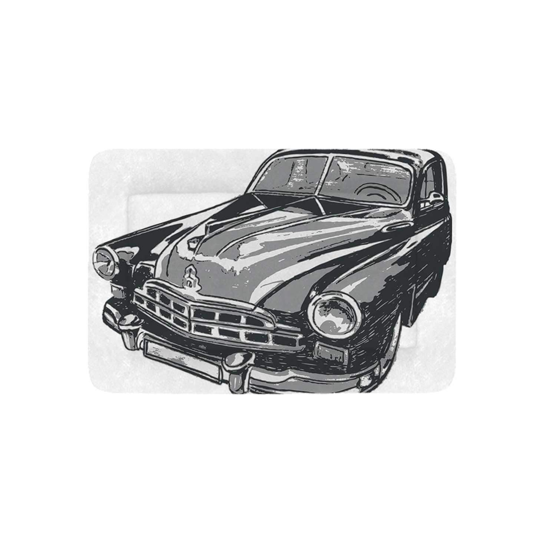 Amazon com : Cars Simple Pet Bed, Hand Drawn Vintage Vehicle