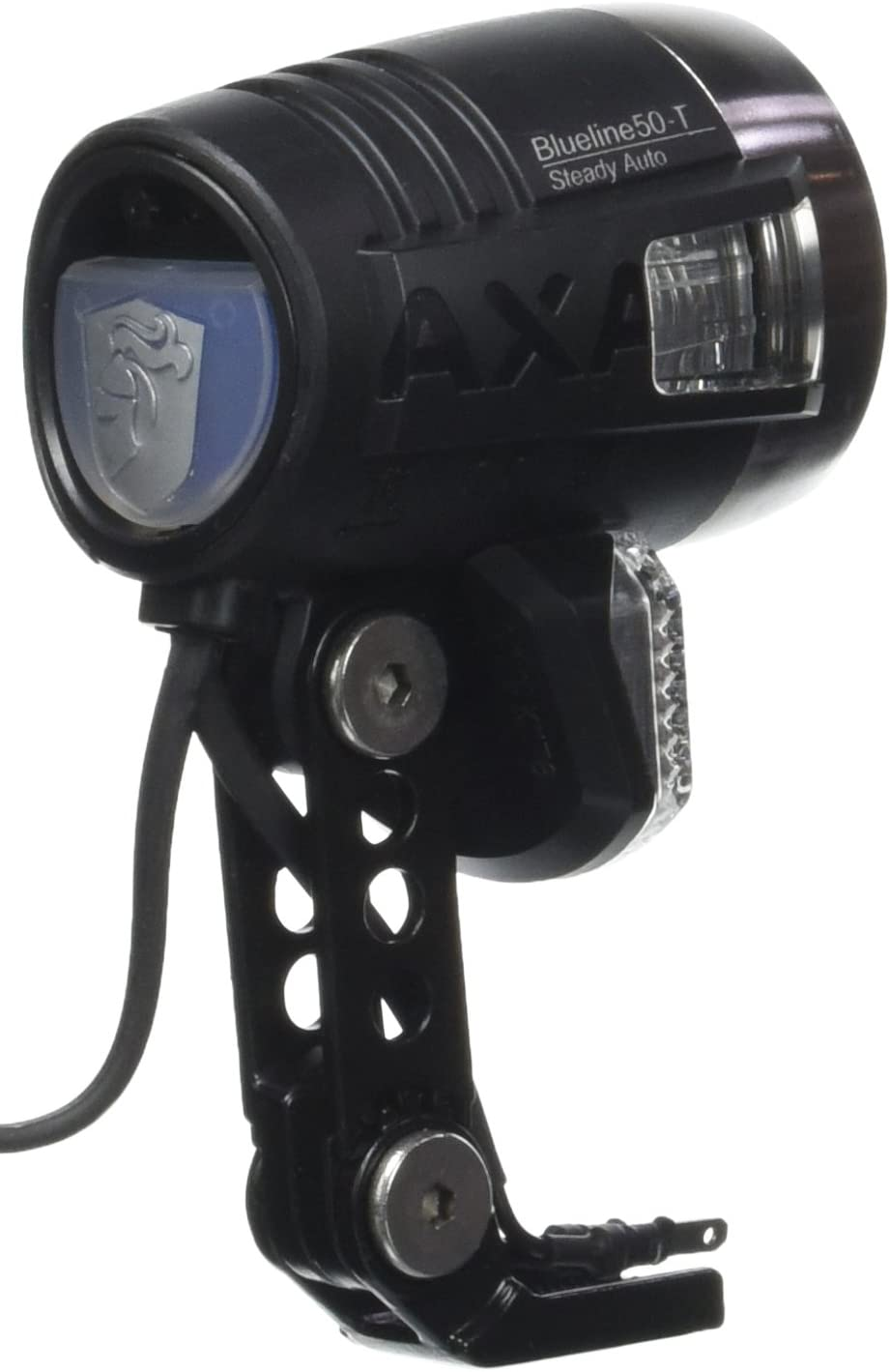 Faros de bicicleta luz axa blueline 50 switch con interruptor para Nabendynamo