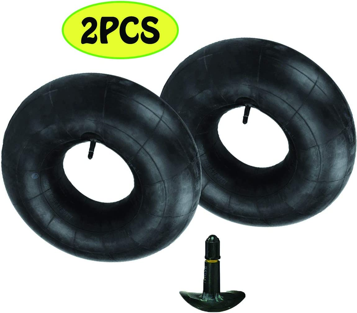 20x10-8,20x8-8,20x10.00-8,20x8.00-8 Premium Replacement Tire Inner Tubes(2 Packs),for Riding Mower Lawn Tractor Snow Blower Golf Cart Garden Trailer,with TR13 Straight Valve Stem, by NAKAO