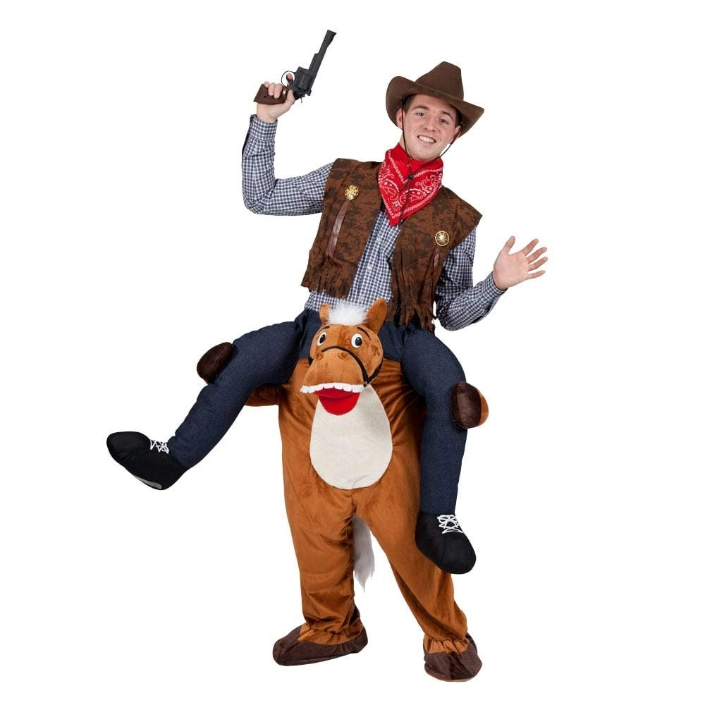 WILD WESTERN HORSE voitureRY ME MASCOT FANCY Robe COSTUME