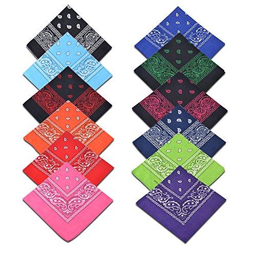 are Bandanas Paisley Print Headbands ()