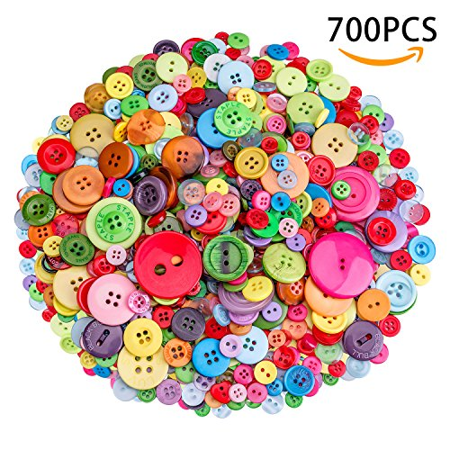 700 PCS Buttons for Sewing and Crafts