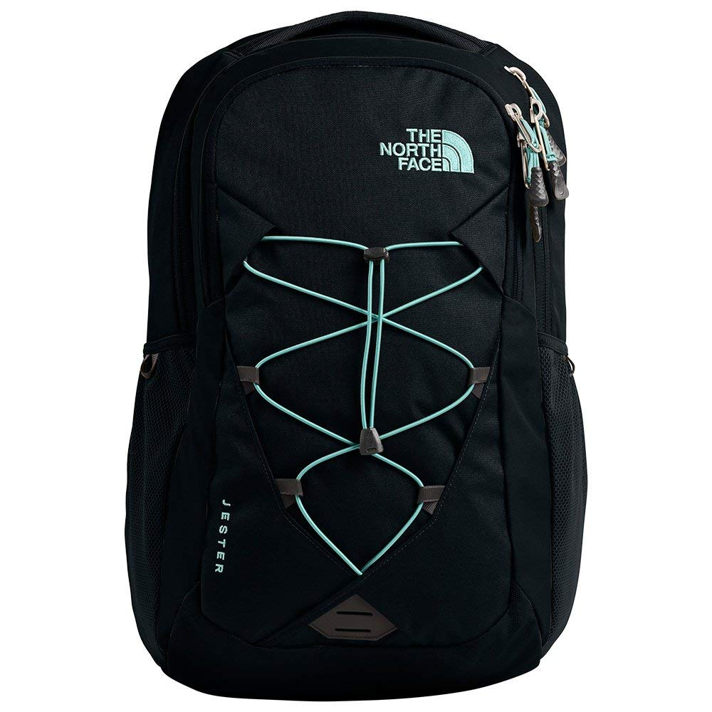 The North Face Women's Jester Backpack, TNF Black/Windmill Blue by The North Face