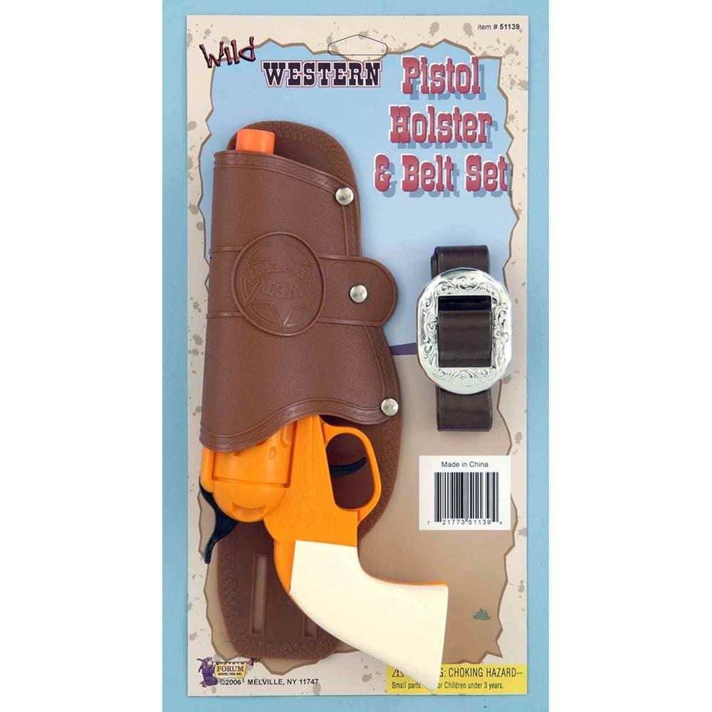 Forum Novelties Single Toy Gun Holster Set 51139