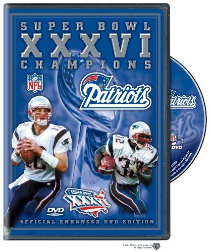 New England Patriots Super Bowl DVD, Patriots Super Bowl DVD, Patriots Super Bowl DVDs