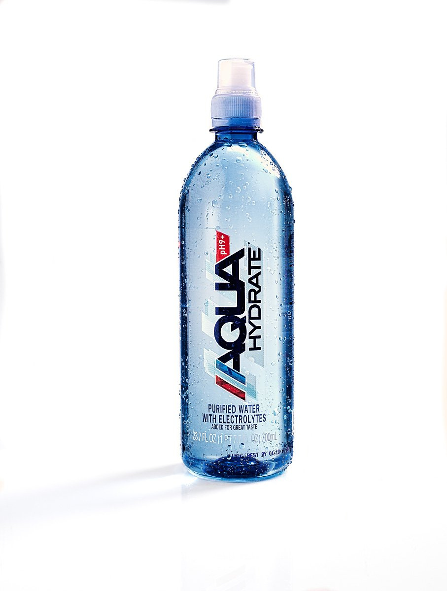 AQUAhydrate Electrolyte Enhanced Water Ph9+, 23.67  Fl. Oz (Pack of 12) by AQUAhydrate (Image #8)