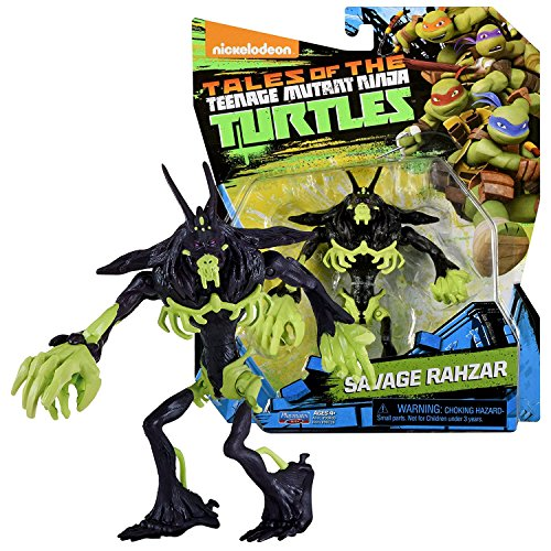 TMNT Year 2017 Tales of Teenage Mutant Ninja Turtles Series 5 Inch Tall Figure - Mutated Ferocious Dogpound SAVAGE RAHZAR