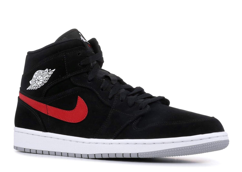 quality design 68aab 6e816 Nike Jordan Mens Air Jordan 1 Mid Leather Synthetic Trainers  Jordan   Amazon.ca  Shoes   Handbags