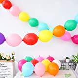 Pink Quick Link 6/'/' Latex Balloons 25 or 50 Pack of 10