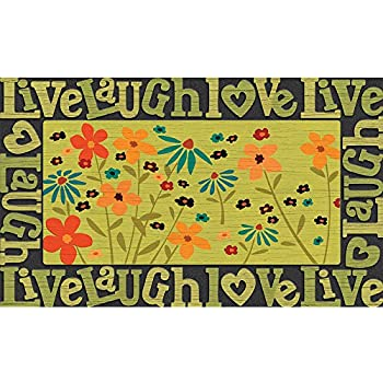 Amazon Com Masterpiece Wildflower Door Mat 18 Inch By