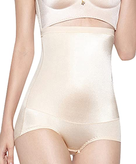 59a1b46d69 Women s Shapewear Body Shaper Tummy Control Shapewear Seamless Firm Control  High Waist Panties Thigh Slimmer at Amazon Women s Clothing store