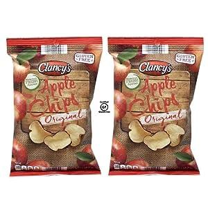 Clancy's Original Fresh Apple Chips Snacks - 2 Pk (5 oz)