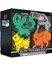 Pokémon USA, Inc. | Pokemon TCG: Svärd & Shield 7 - Evolving Skies Elite Trainer Box (en slumpmässig) | Kortspel | Åldrar 6+ | 2 spelare | 20+ minuter speltid