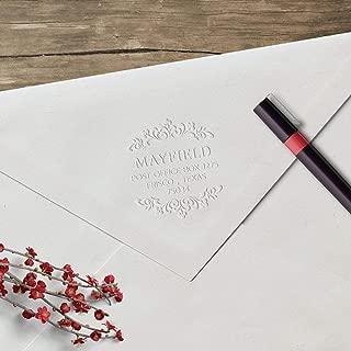product image for Three Designing Women Custom Address Embosser - The World's Only Designer Embosser Brand (Mayfield)