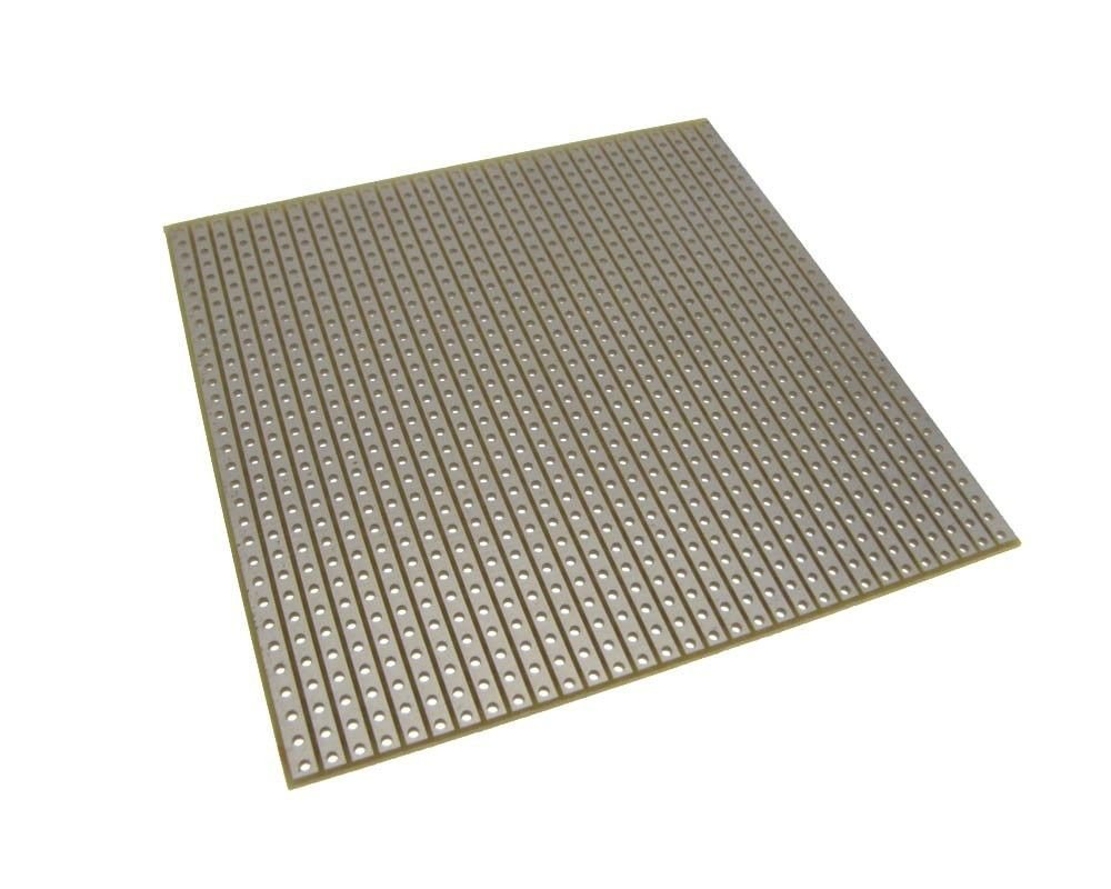 HQ 8*8cm Single Side Prototype Board Perforated 2.54mm White