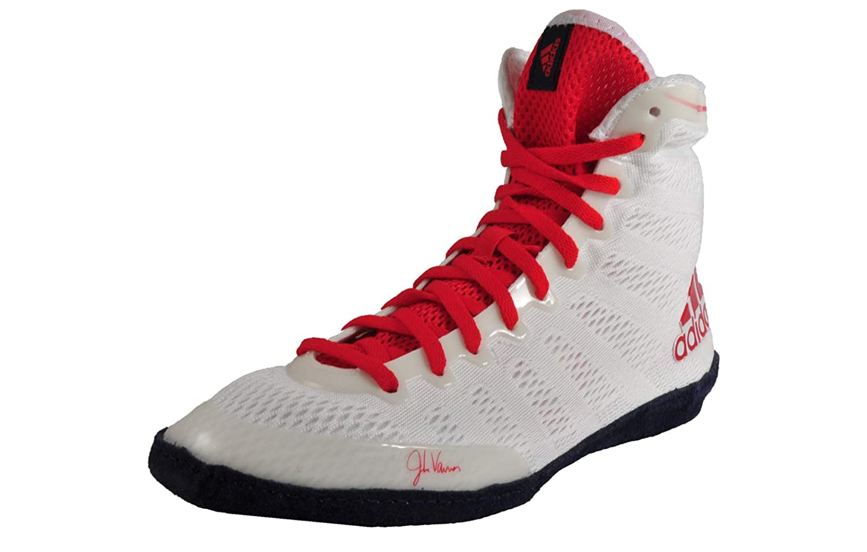 Chaussures lutte Adidas Modele adizero blanche