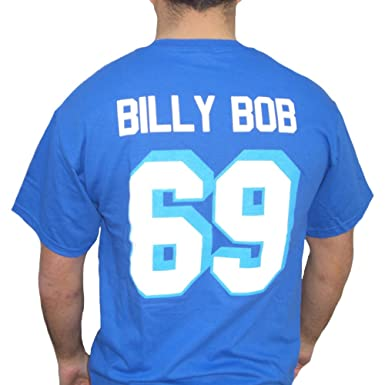 4db299673 Image Unavailable. Image not available for. Color  Billy Bob  69 Coyotes  Jersey T-Shirt Varsity Blues West Canaan Coyotes