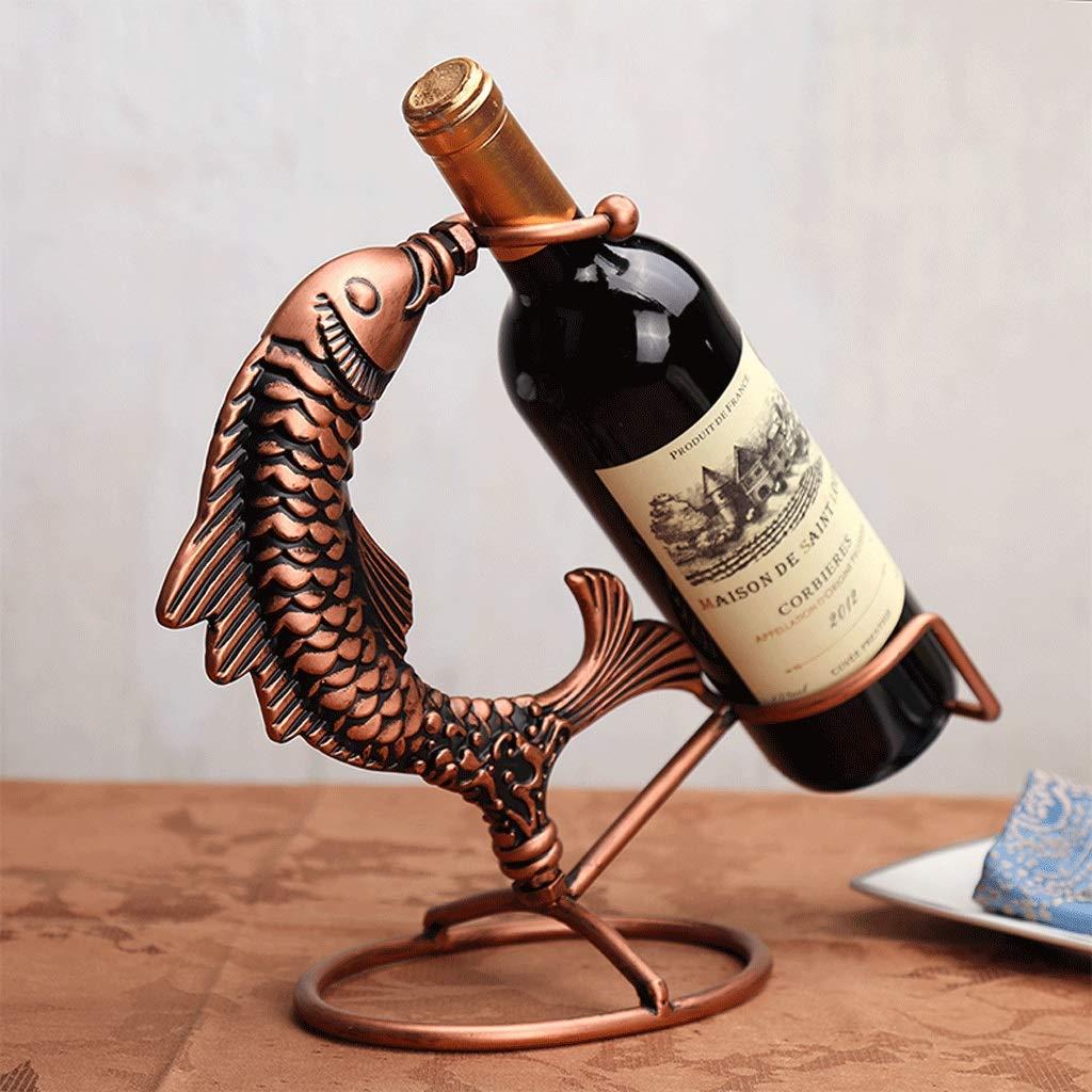 TLMY Chaque Année, Il Ya Un Casier À Vin De Poisson, Un Présentoir Créatif Pour La Décoration Du Casier À Vin, Un Porte-bouteilles De Vin, Casier à vin Il Ya Un Casier À Vin De Poisson Casier à vin