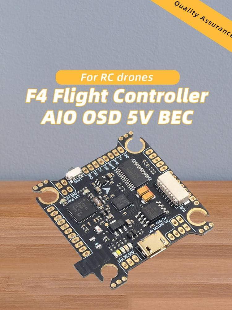 T-MOTOR F4 Flight Controller AIO OSD 5V BEC For DIY RC FPV Racing Quadcopter