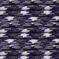 Paracord Planet® USA Made 550 Type III Paracord, 100 Feet - Now Selling Over 200 Parachute Cord Colors! (Purple Camo)