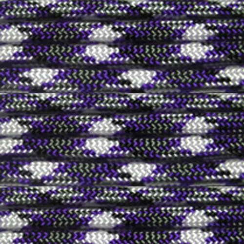 Paracord Planet 100' 550lb Type III Purple Passion Camo Paracord