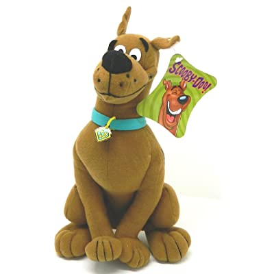 "Hana Barbera 12"" Scooby Doo Plush (Sitting): Toys & Games"