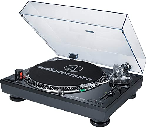 Audio-Technica AT-LP120BK-USB Direct-Drive Professional Turntable USB Analog , Black