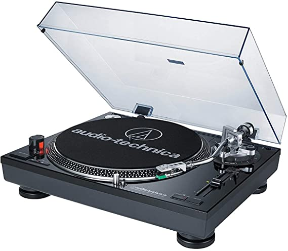 Audio-Technica AT-LP120BK-USB Direct-Drive Professional Turntable (USB & Analog)