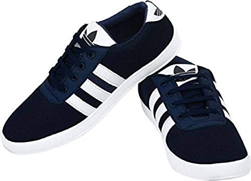 Kwelin Casual Navy Blue Sneakers Shoes