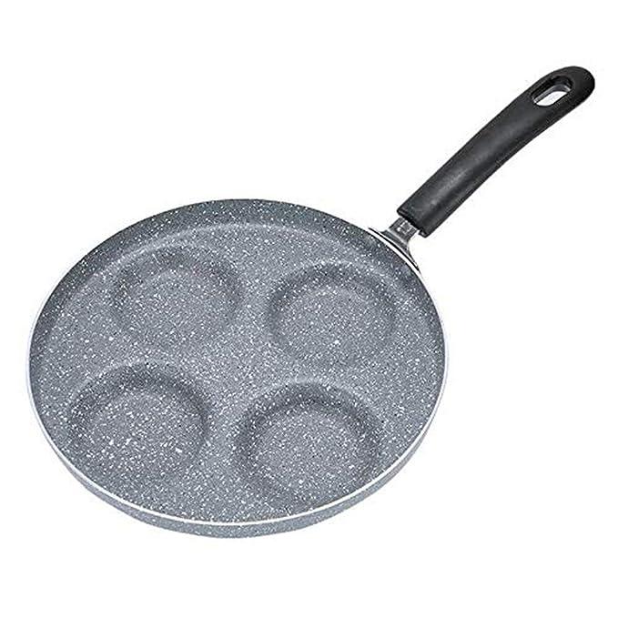 DUDDP Batería de Cocina Omelette Egg Burger Cup Aluminumn Huevo ...