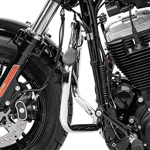 Sturzb/ügel f/ür Harley Davidson Sportster 2004-2020 Craftride Mustache Chrom