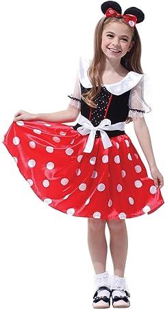 Krazy Toys Disfraz Minnie Mouse Niña (10-12 años): Amazon.es ...