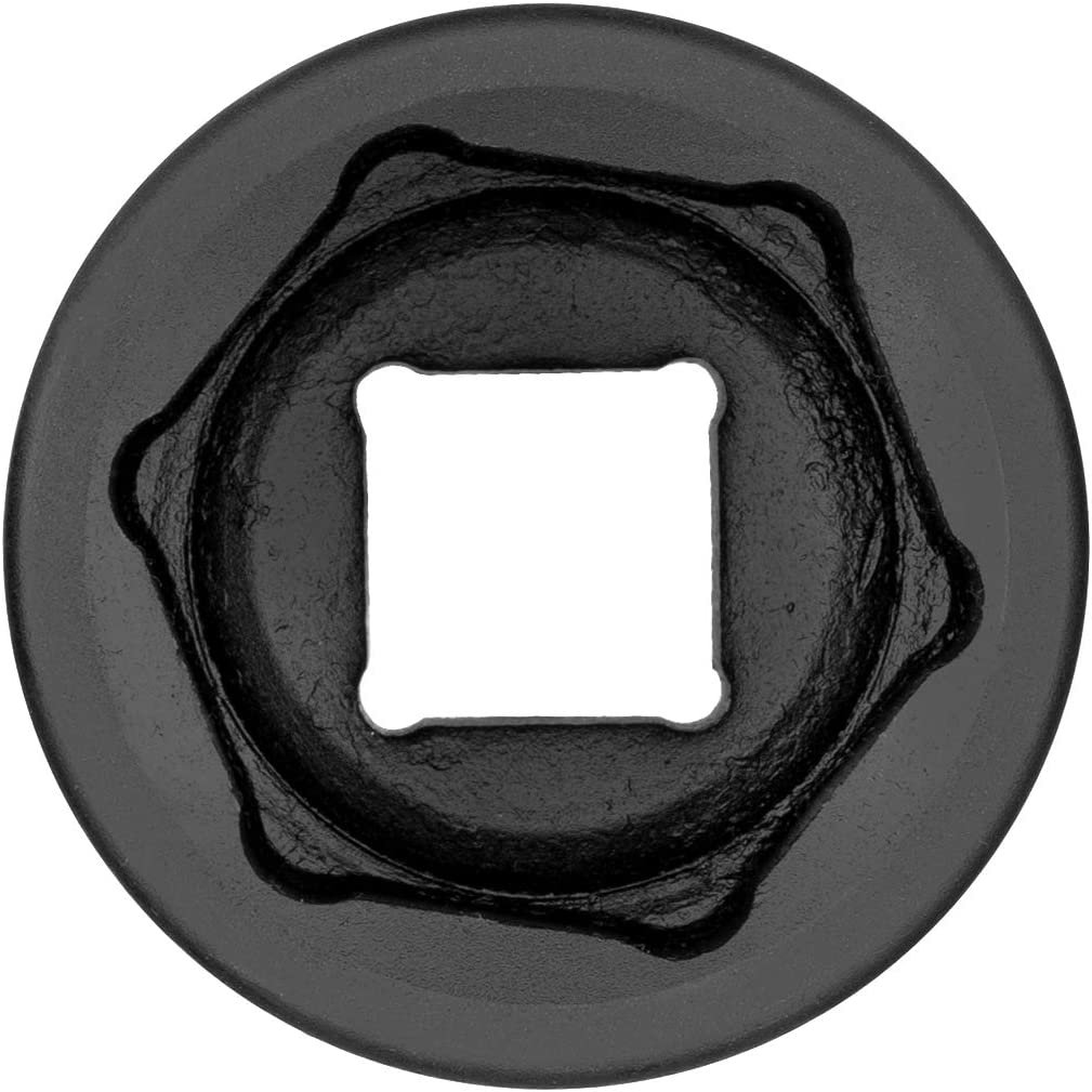 Chrome Molybdenum Alloy Steel Standard Impact Socket with 6-Point Design Metric Jetech 3//4 Dr 40mm Impact Socket