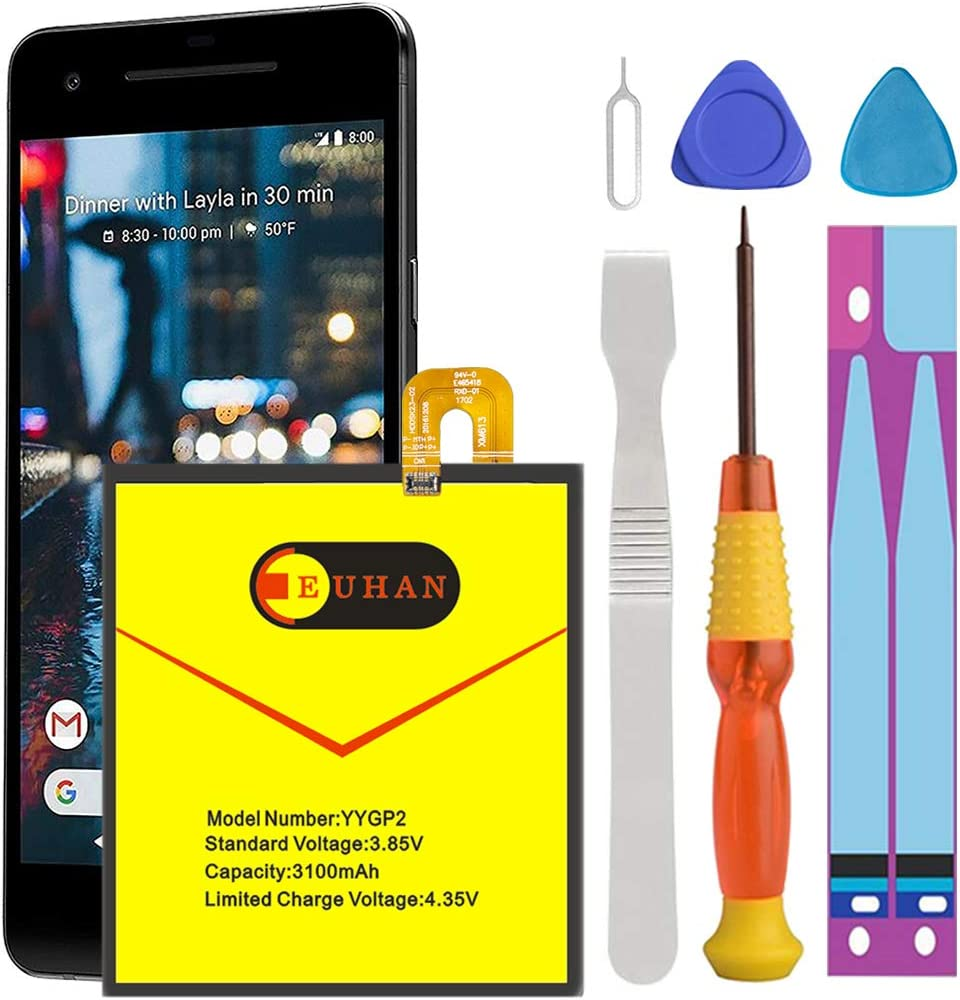Batería Google Pixel 2 con kit de reemplazo (B7Z5)