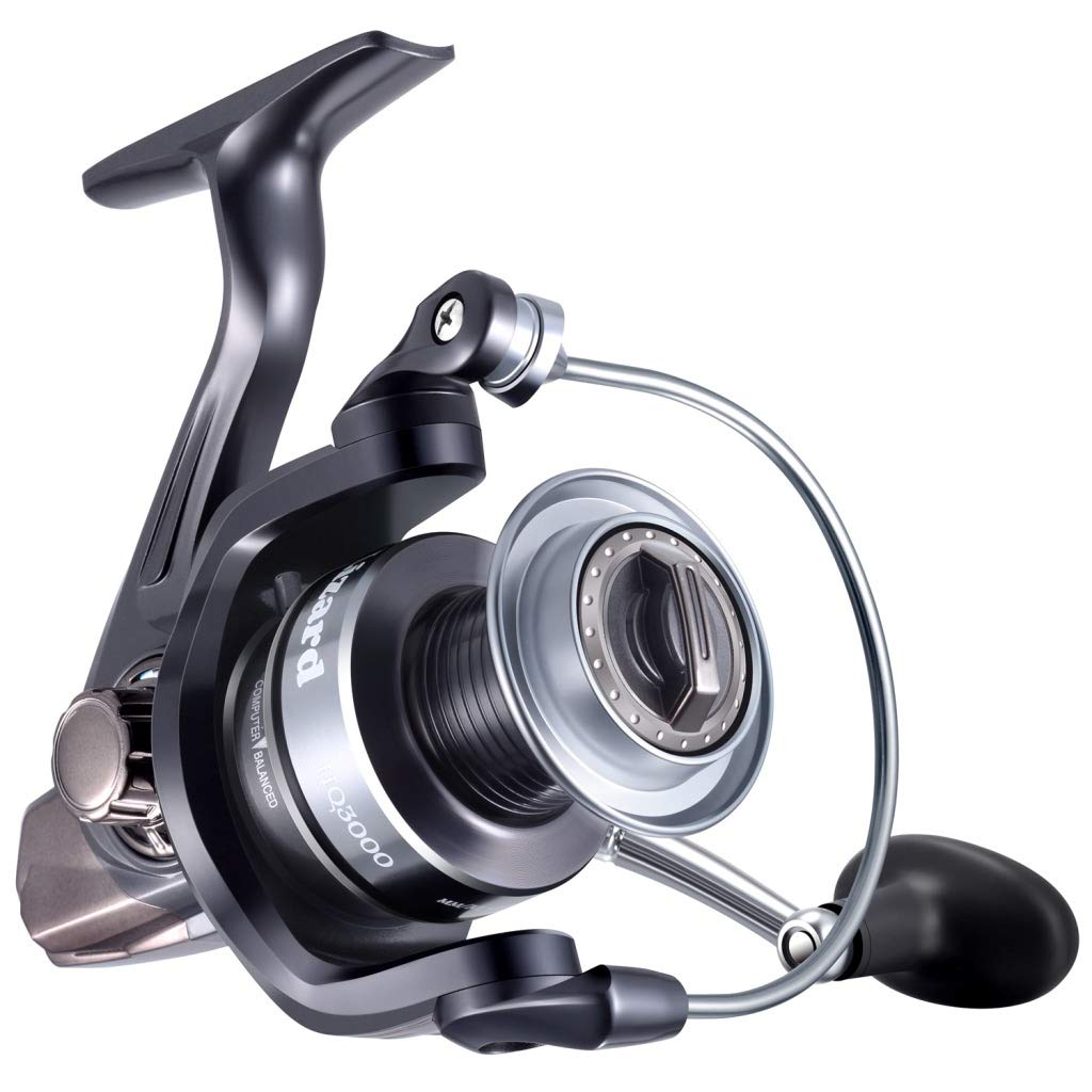 Lizard Lightweight Spinning Reel with 13 1 Stainless Steel BB, Ultra Smooth Spinning Fishing Reel with 5.2 1 Gear Ratio, Powerful Fishing Reel for Saltwater or Freshwater, Max Drag Power 25.8lbs