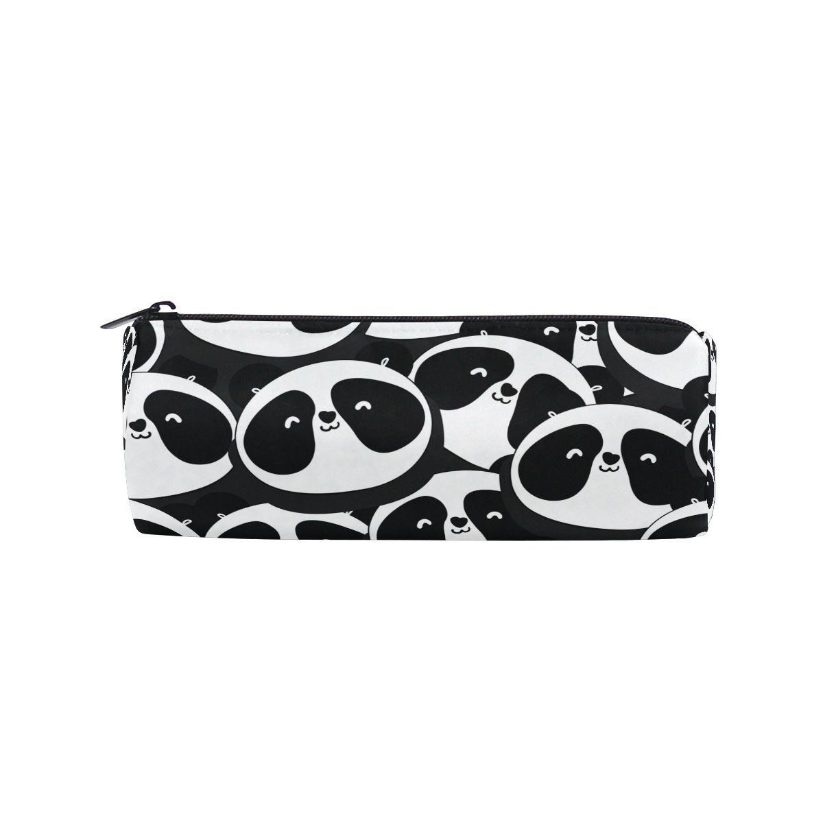 ShineSnow Handdrawn Panda Pencil Pen Bag Case,Cartoon Animal Student Office College Middle School High School Large Storage Pouch Holder Box Organizer